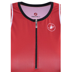 Castelli Core Tri Top Women red/white